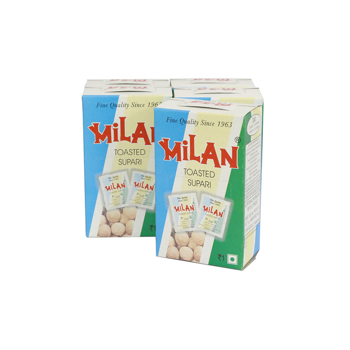 Milan Toasted Supari (Areca Nut) - 5 boxes with 50 sachets each