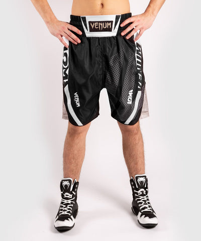 VENUM ARROW LOMA SIGNATURE COLLECTION BOXING SHORTS - BLACK/WHITE