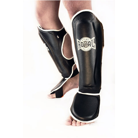 ROYAL SHIN GUARDS LEATHER