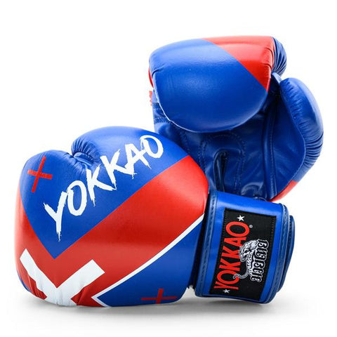 X-BLUE MUAY THAI BOXING GLOVES