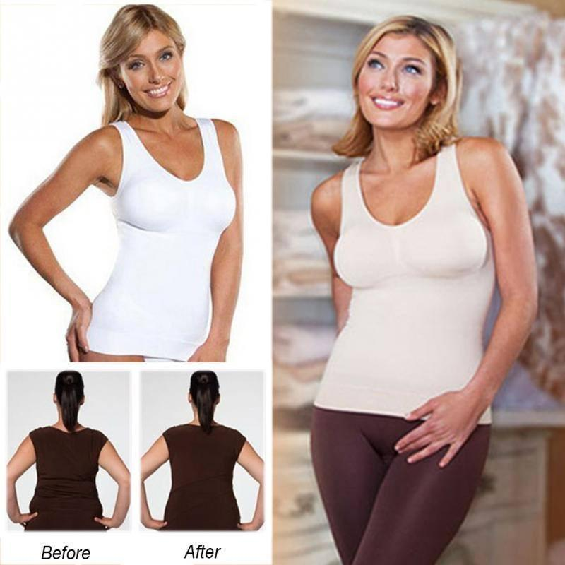 Comfortable Wireless Cami Tank Top
