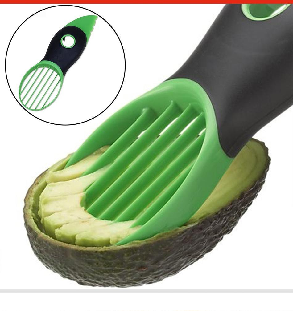 3in1 Multi-Function Avocado Slicer