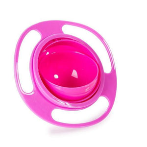 360 Rotate Spill & Kid Proof Bowl