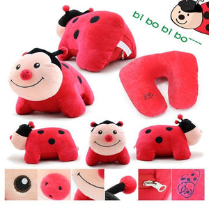 Lady Bug U Shaped Travel Pillow