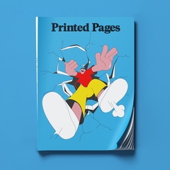 Printed Pages Autumn/Winter 2017 (OUT OF STOCK)