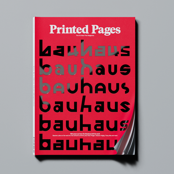 Printed Pages Autumn/Winter 2018 (Red Cover)