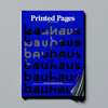 Printed Pages Autumn/Winter 2018 (Blue Cover)