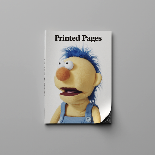 Printed Pages Spring/Summer 2016 (SOLD OUT)