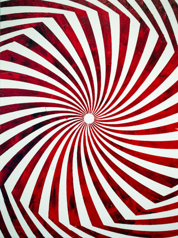 sean christopher ward artwork wichita kansas acrylic painting vivid vibrant ict op art optical illusion contemporary extroidanary psychedelic trippy pop