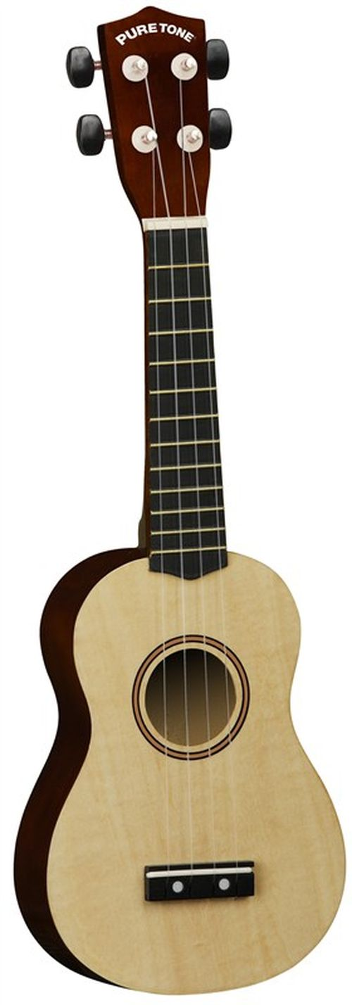 Puretone Concert Ukulele Natural Finish