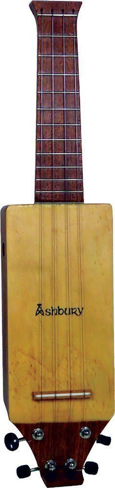 Ashbury LONELY PLAYER Travel Uke - Solid Spruce, Sapele,