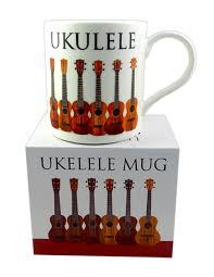 Ukulele Mug Colourful in matching box