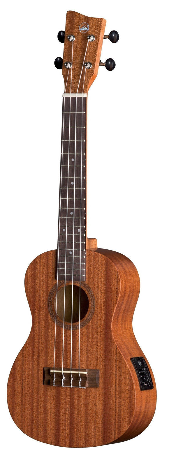 VGS Manoa El-acoustic Concert Uke with padded Cover (Lefthand)