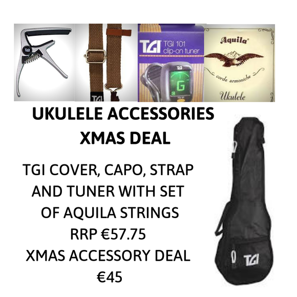 NEW! TGI Ukulele Accessory Deal Pack