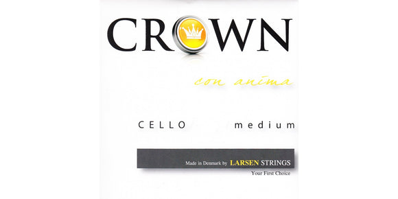 Crown Cello Strings by Larsen