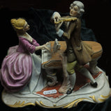 Full Colour Figurine, double, Violin and Harpsichord