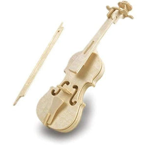 Quay Woodcraft Build Instrument Kit Violin or Harp