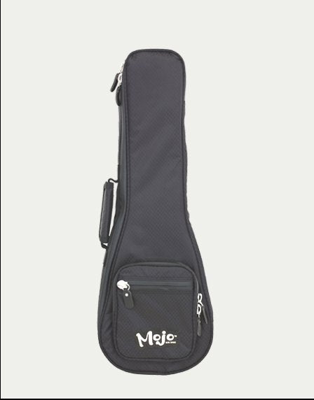 MOJO Uke Bag, Heavily Padded (Black) Soprano Concert and Tenor