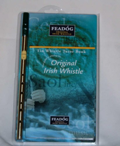 Feadóg Whistle D with Book Pack
