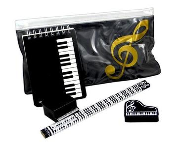 New!! Music theme Stationery Kit Keyboard Design