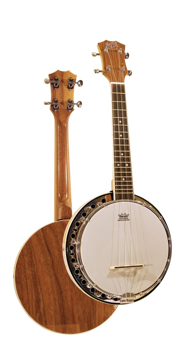 New!! Barnes and Mullins Closed Back Banjolele Uke