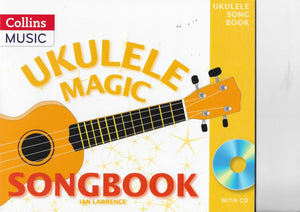 Ukulele Magic Songbook, with CD easy songs and tutor