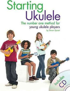 Starting Ukulele Book and CD by Sprout