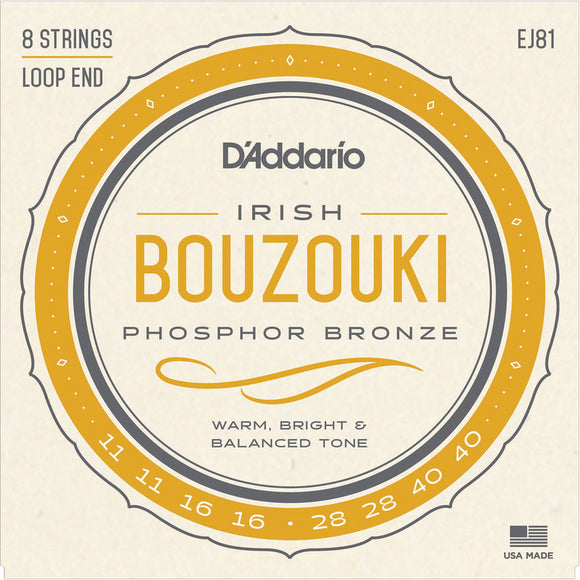 D'addario Irish Bouzouki Strings