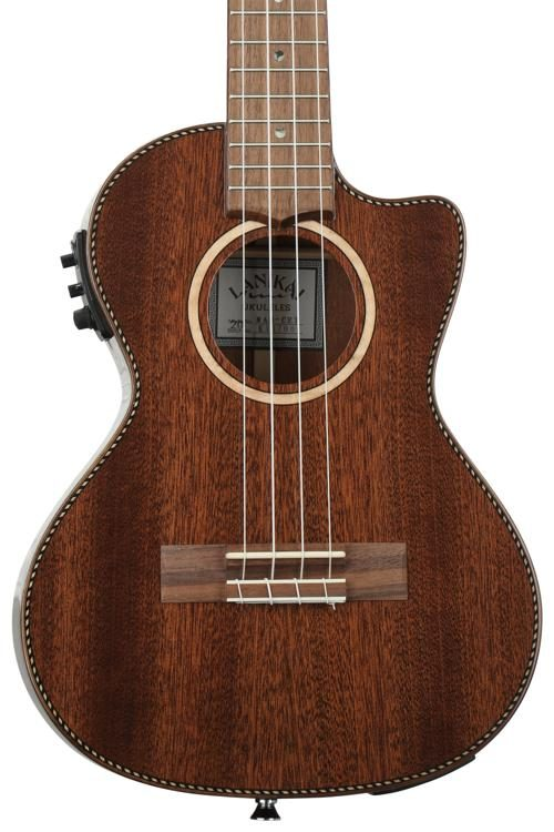 Lanikai MAS-CET Solid Mahogany with pickup