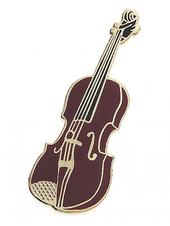Violin Mini-Pin Lapel Badge