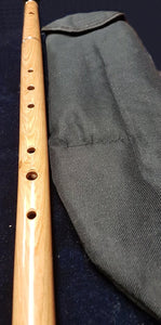 2 piece Caucus wood flute in Pounch
