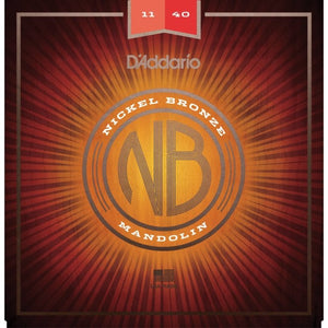 D'Addario NIckel Bronze Mandolin Strings NBM 1140