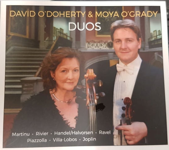 NEW! David O'Doherty / Moya O'Grady