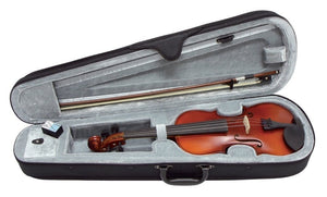 NEW!! Gewa 3/4 size violin outfit inc bow case resin