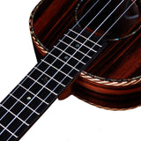 New! Heartland Striped Ebony Tenor EQ Ukulele XMAS DEAL