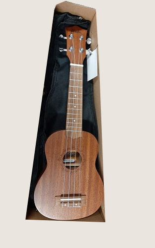 Koda  ku30 Soprano Ukulele, Sapele Body, in cover