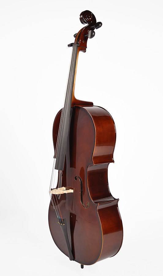 NEW!! Bon Novice 4/4 Student Cello Outfit inc cover and bow