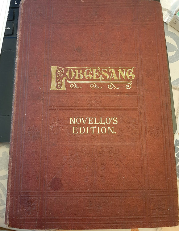 Antique Novello Edition Mendelsohn' Lobgesang