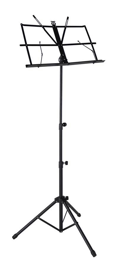 MK40 Music Stand by Boston, foldable, portable, inc plastic carrier