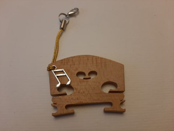 New!! Bridge Charms PLAIN series, violin bridge charms