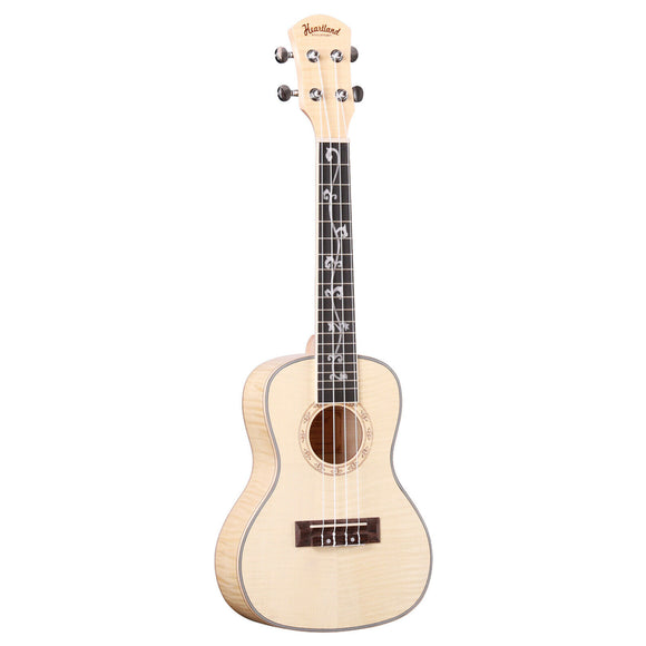 NEW! Heartland Concert Ukulele in Flamed Maple