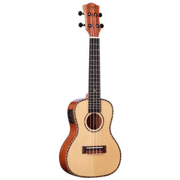 NEW! Heartland Mahogany Concert Uke with EQ pickup