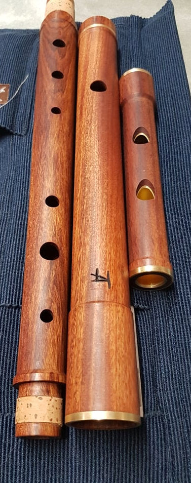Tim Adams Irish Flute Mopane inc Cover Accessories