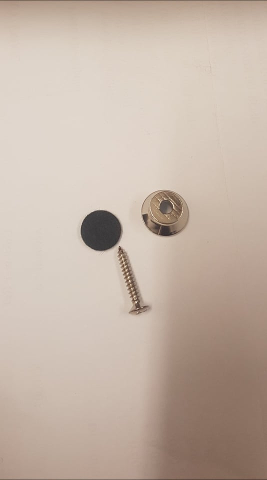 NEW!! Ukulele End Pin, inc felt buffer and screw