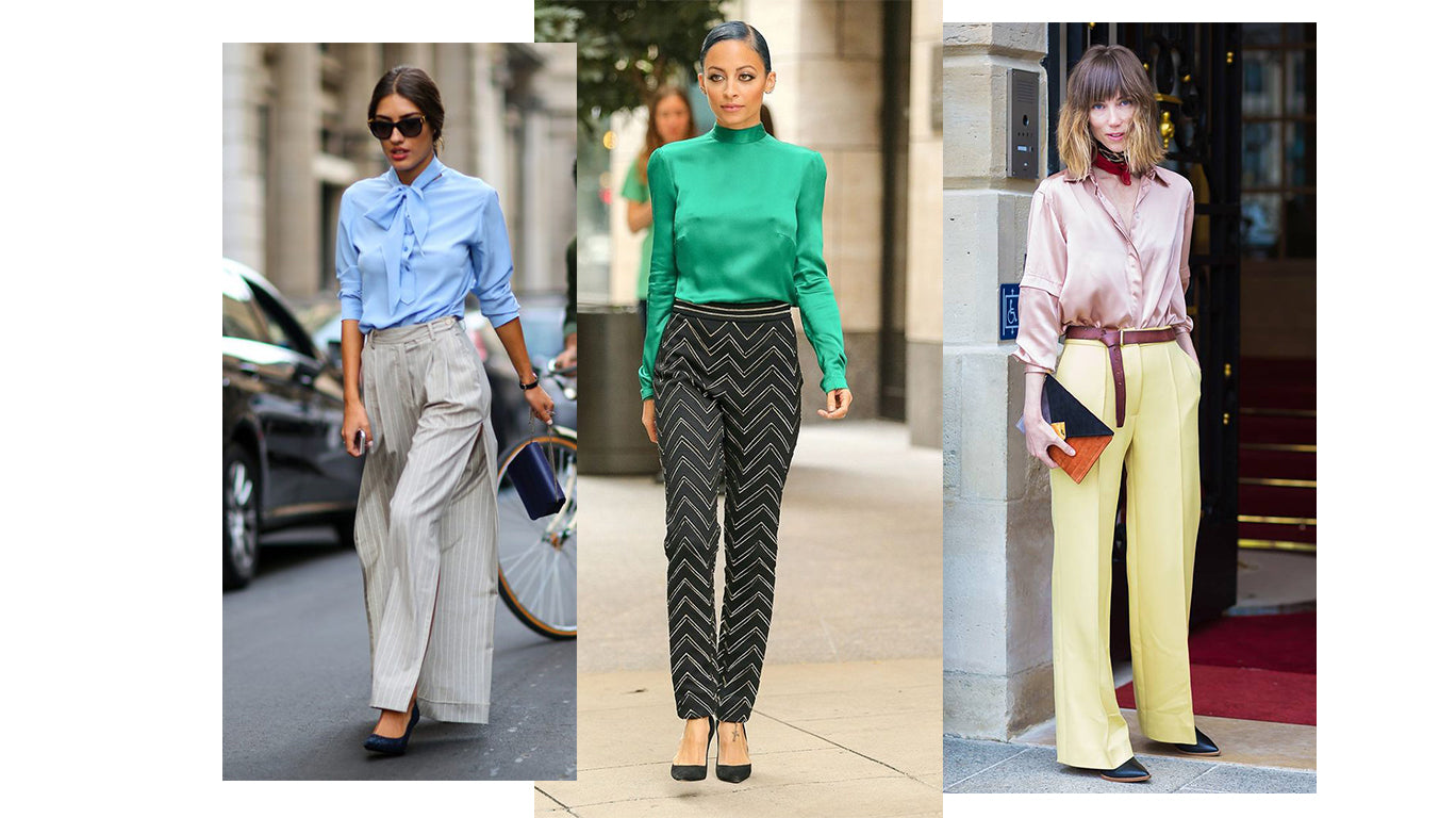 Women street style blouse with pant