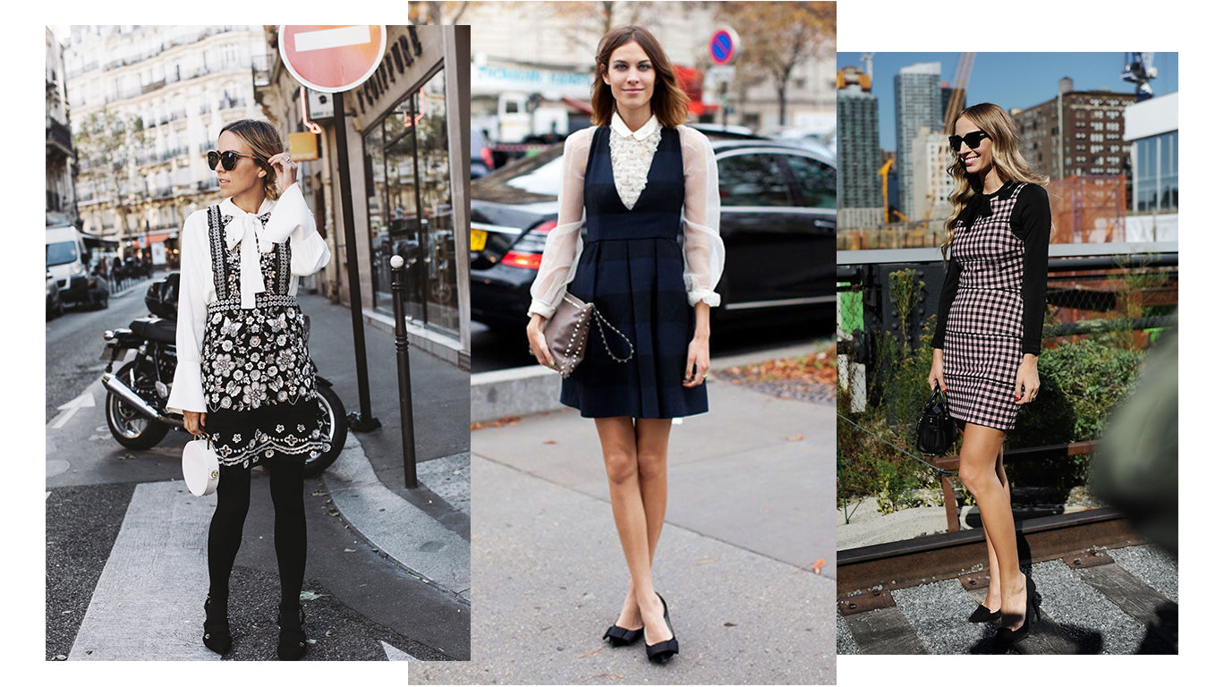 Women street style blouse with dress