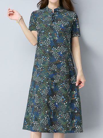 Madame Noy Robe Asiatique nouvelle collection Femme Modern Style Floral Printed  Madame Noy | Mode, Lifestyle & Déco | Thaï | Lao | Khmer | Viet