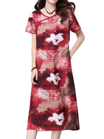 Madame Noy Robe Asiatique nouvelle collection Femme Modern Style Frog Button Side Slit  Madame Noy | Mode, Lifestyle & Déco | Thaï | Lao | Khmer | Viet