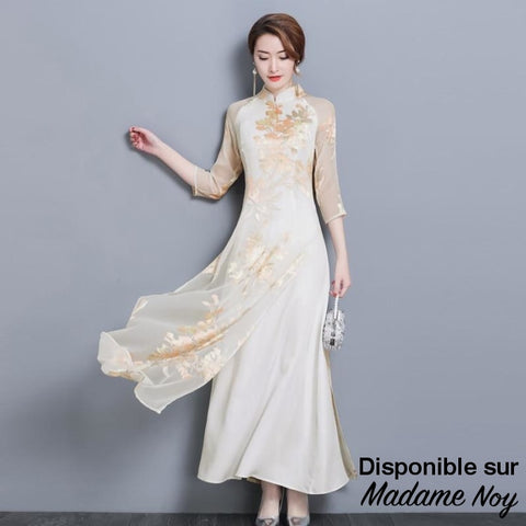 Madame Noy Ao dai Vietnam qipao dress for women traditional clothing ao dai (livraison gratuite)  Madame Noy | Mode, Lifestyle & Déco | Thaï | Lao | Khmer | Viet