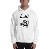 Madame Noy MADAMENOY LAO ZODIAC SIGN Dragon Unisex Hooded Sweatshirt White / 5XL Madame Noy | Mode, Lifestyle & Déco | Thaï | Lao | Khmer | Viet